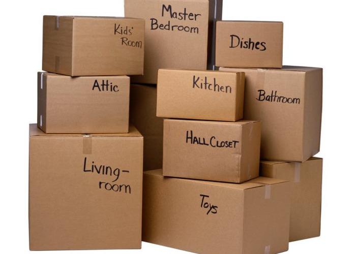 Маркировка на упаковочных коробках
