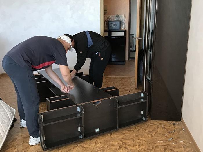 особенности разборки мебели для транспортировки