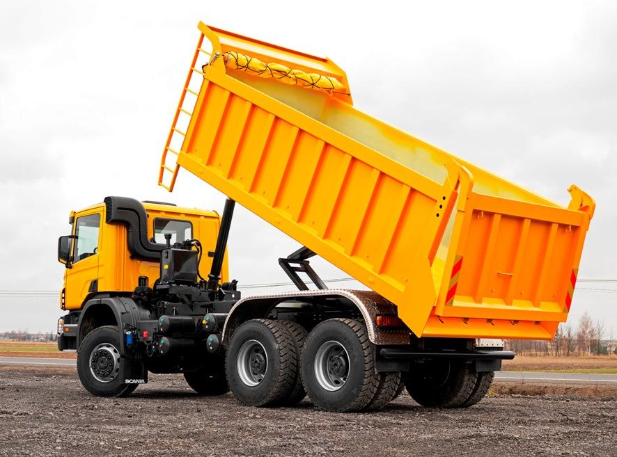 специальный кузов грузовика