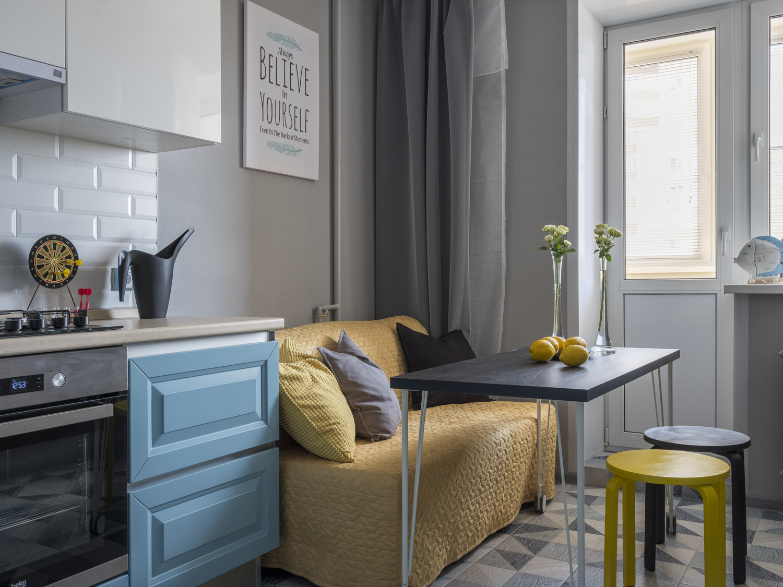 как подобрать диван на кухню