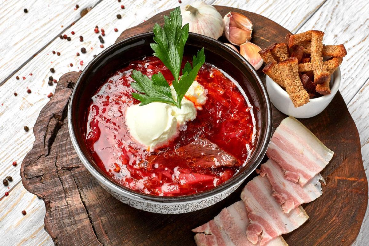 мясо в украинской кухне