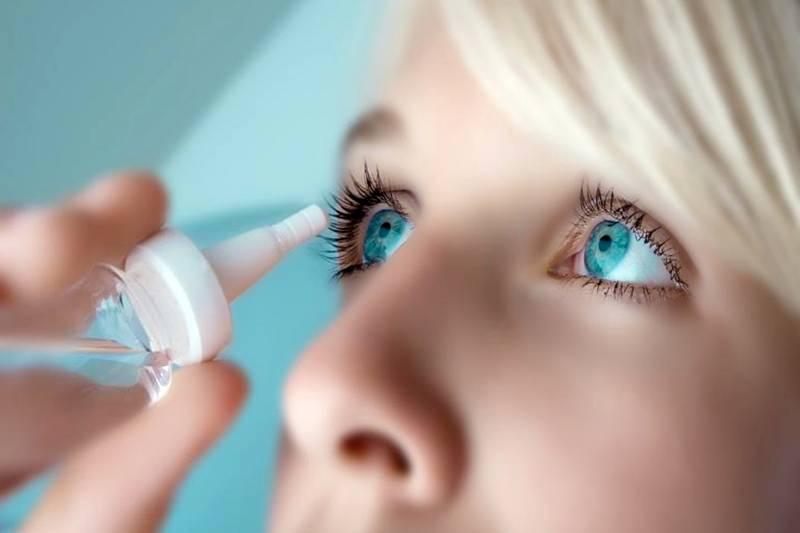способ применения капель для глаз
