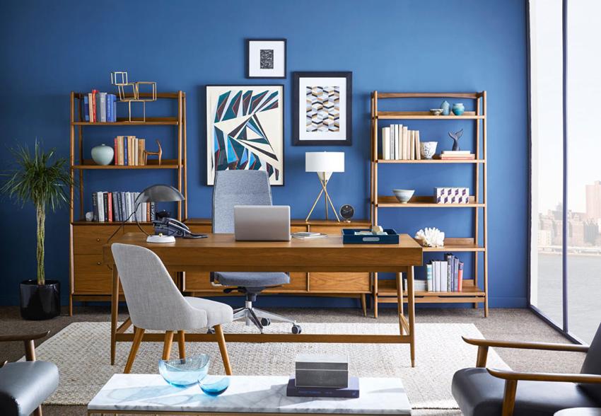 как подобрать мебель в кабинет