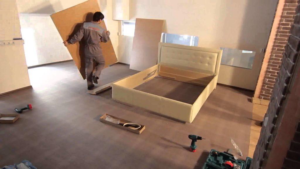 Как перевозить большую мебель