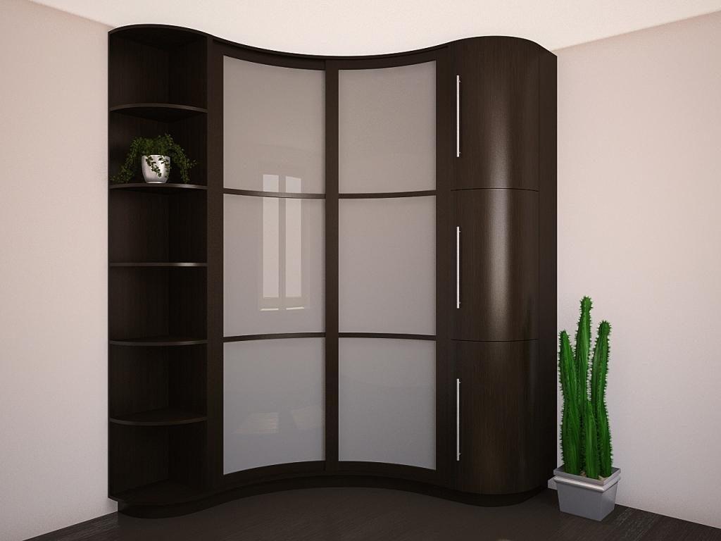 купить угловой шкаф в гостиную