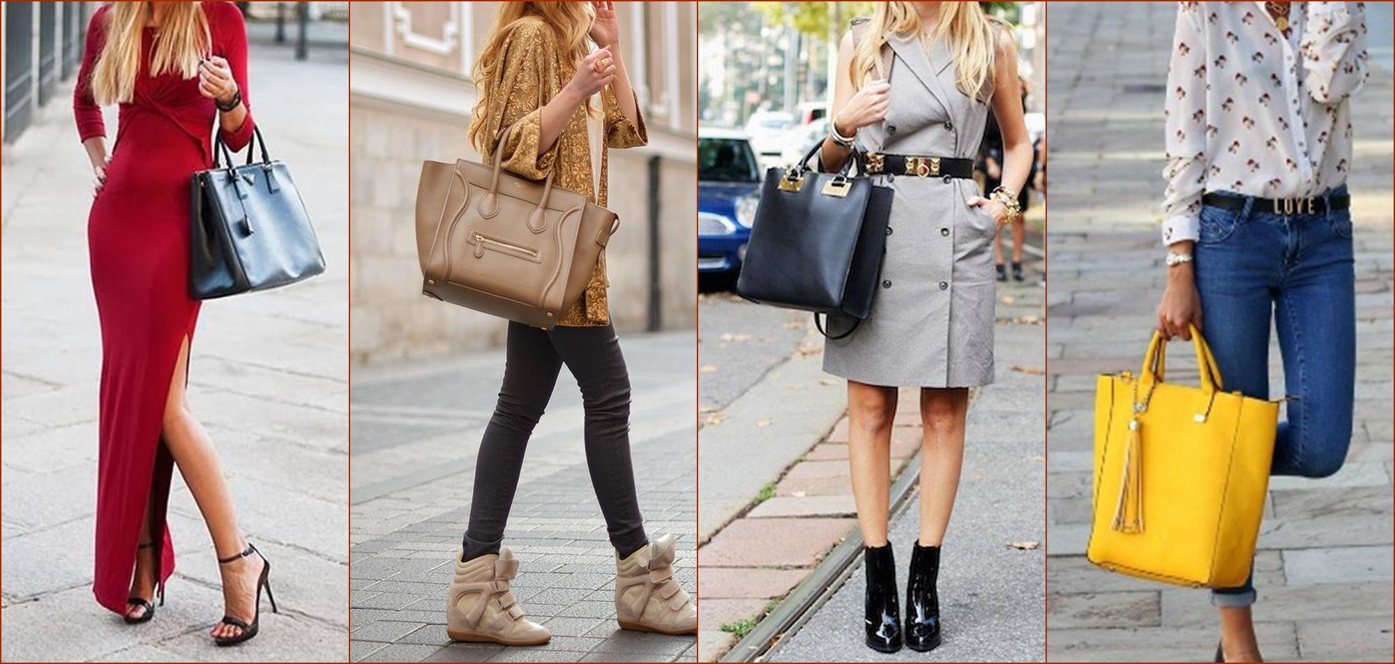 женские сумки тоут