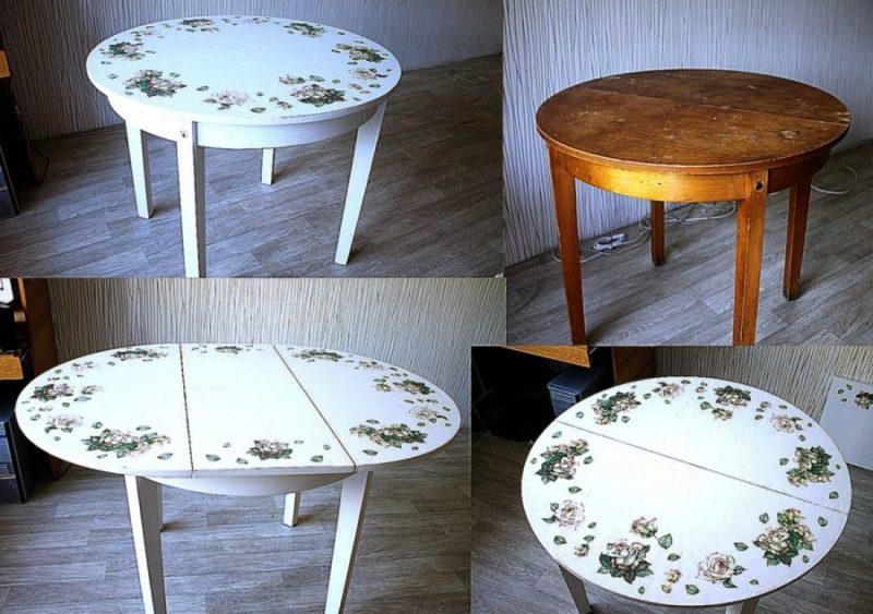 как подготовить стол к декорированию