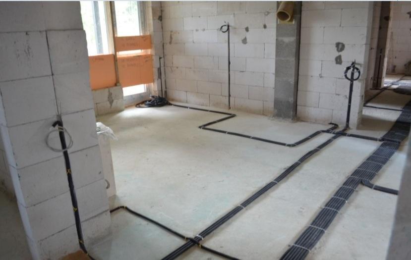 переделка электропроводки в нежилом помещении
