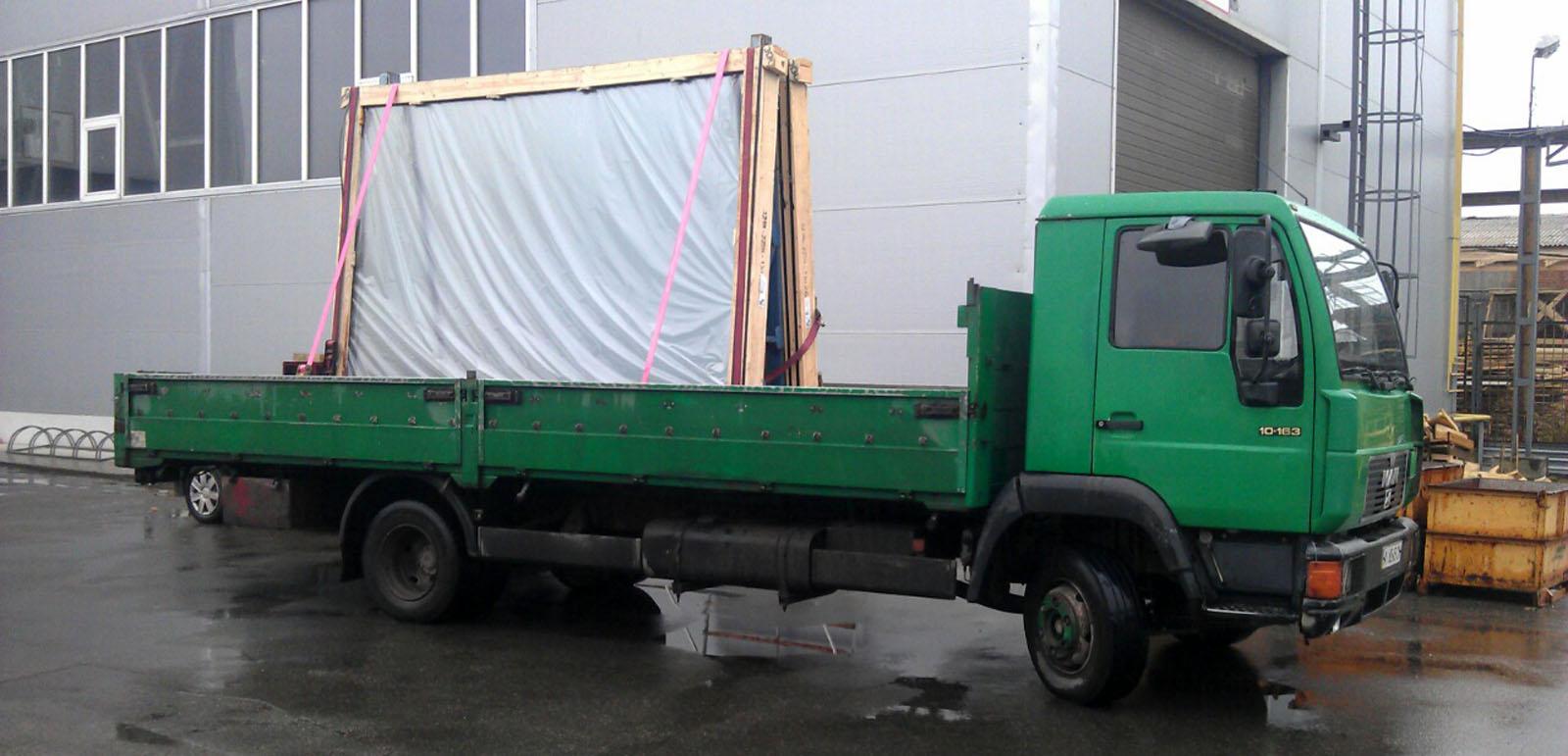 как выбрать авто для перевозки стекла