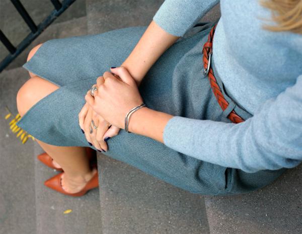 коричневые туфли с чем носить