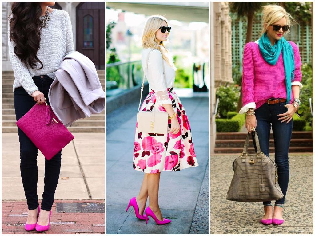 сочетание цветов в одежде