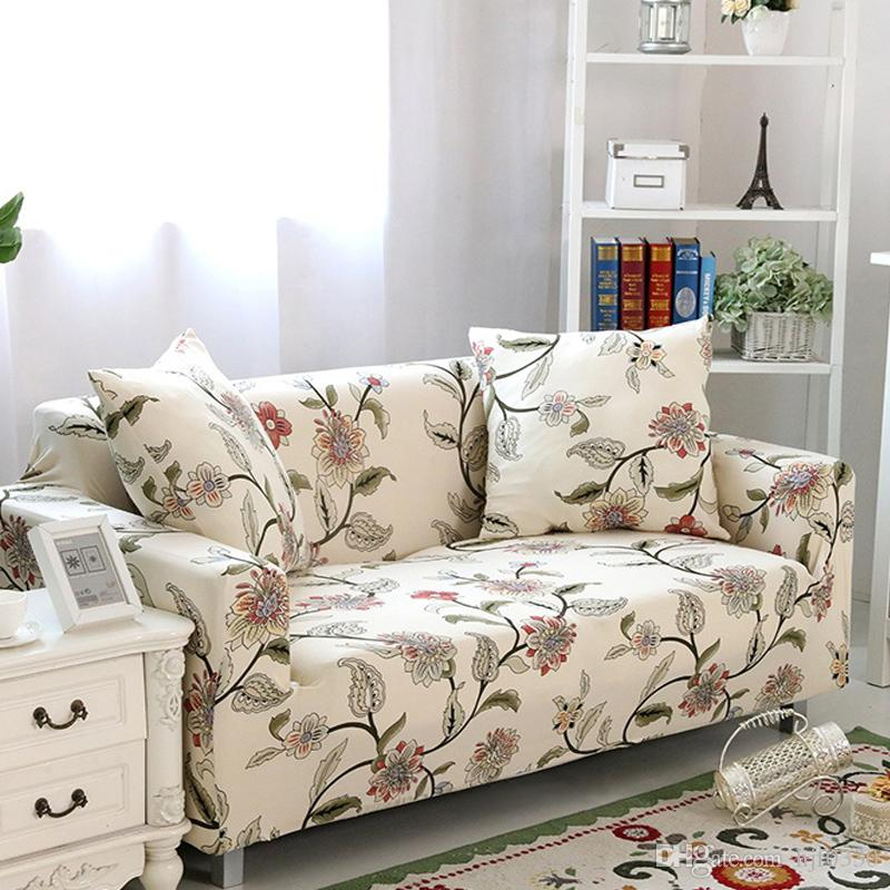 диваны с цветочным принтом