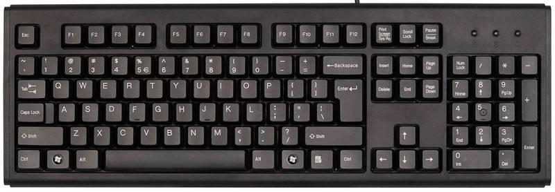 классическая клавиатура