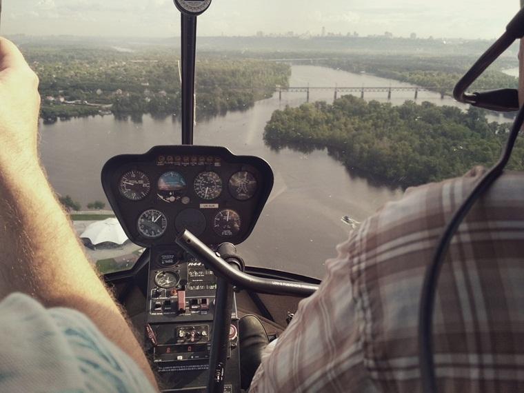 Обзорная вертолетная экскурсия в Киеве