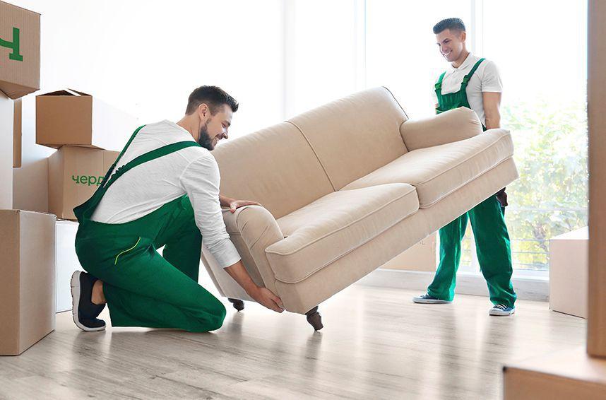 как правильно перевезти диван
