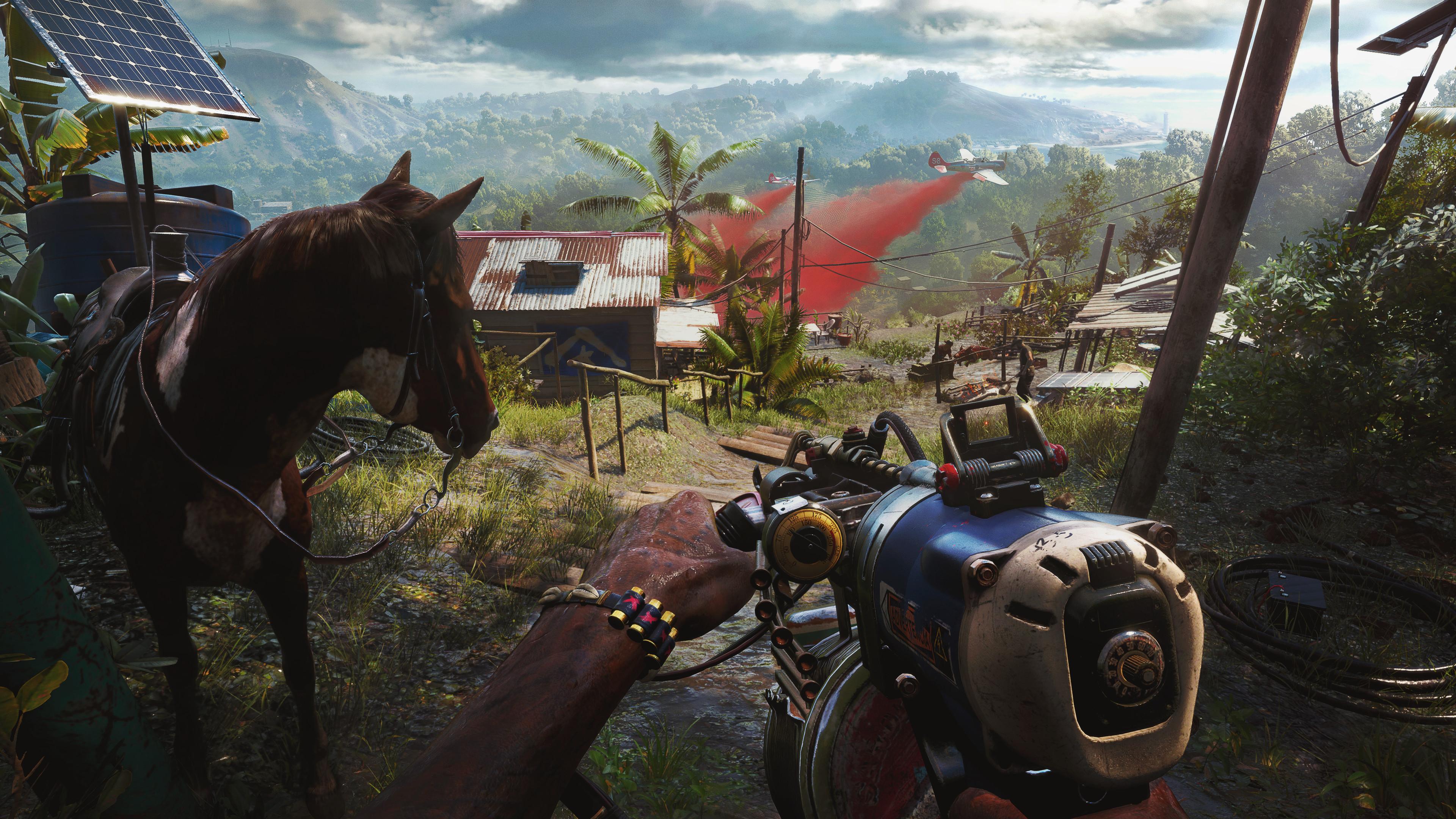 Безумный арсенал оружия и транспортных средств Far Cry 6
