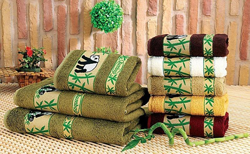 бамбуковые полотенца для ванны