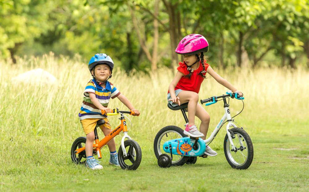 Беговел — для самых маленьких, велосипед — для детей от 5 лет