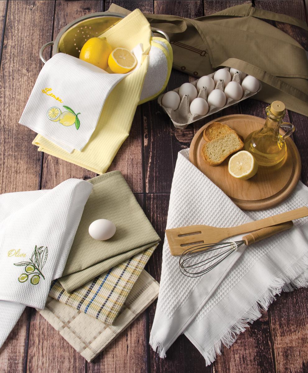 купить полотенца для кухни