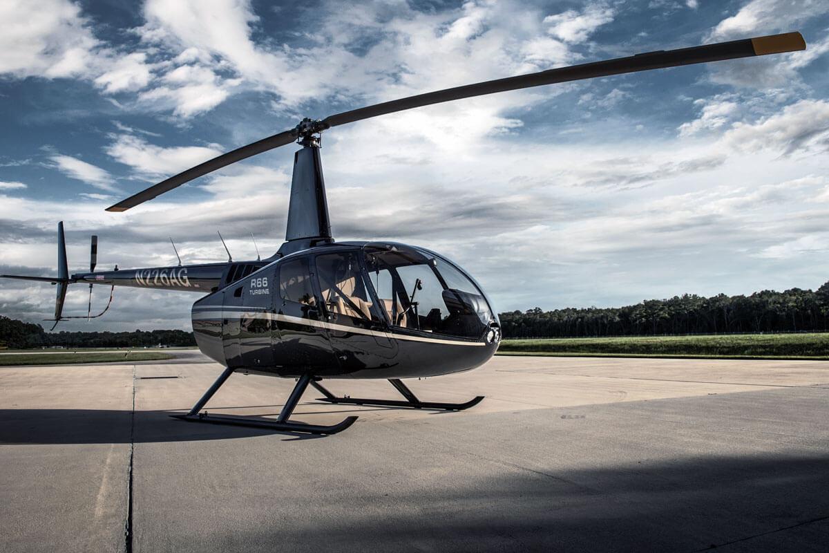 полет на вертолете над Гидропарком