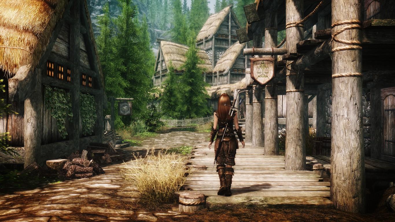 обзор The Elder Scrolls V: Skyrim