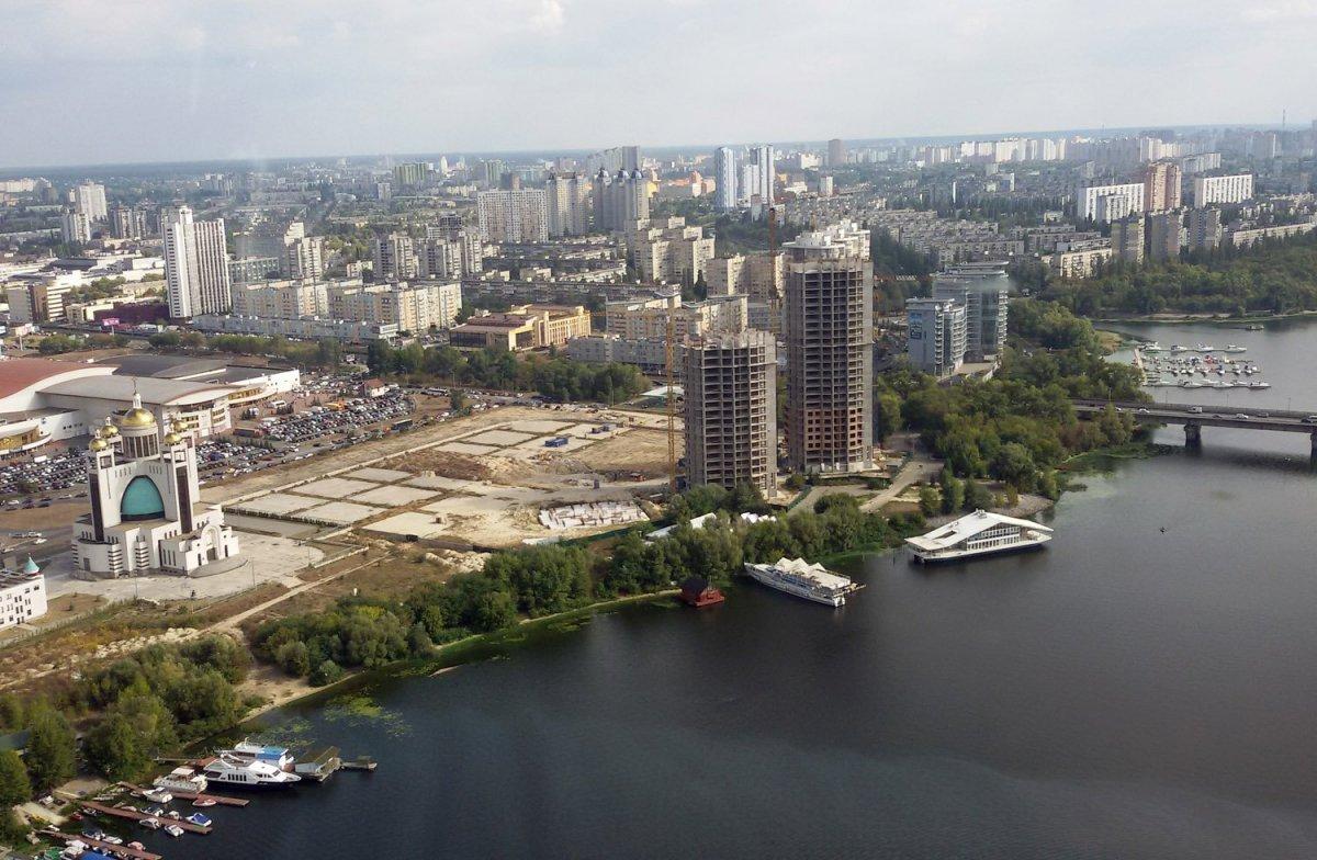 Обзорная экскурсия над Киевом
