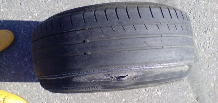 выявление дефектов на шинах
