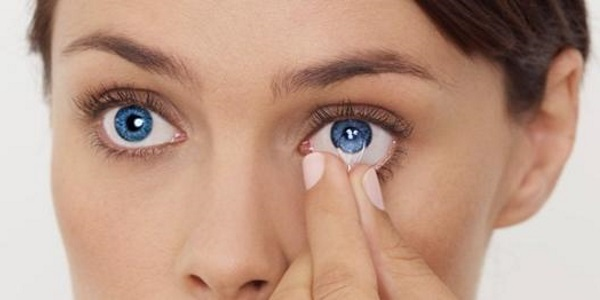 сухость глаз и линзы
