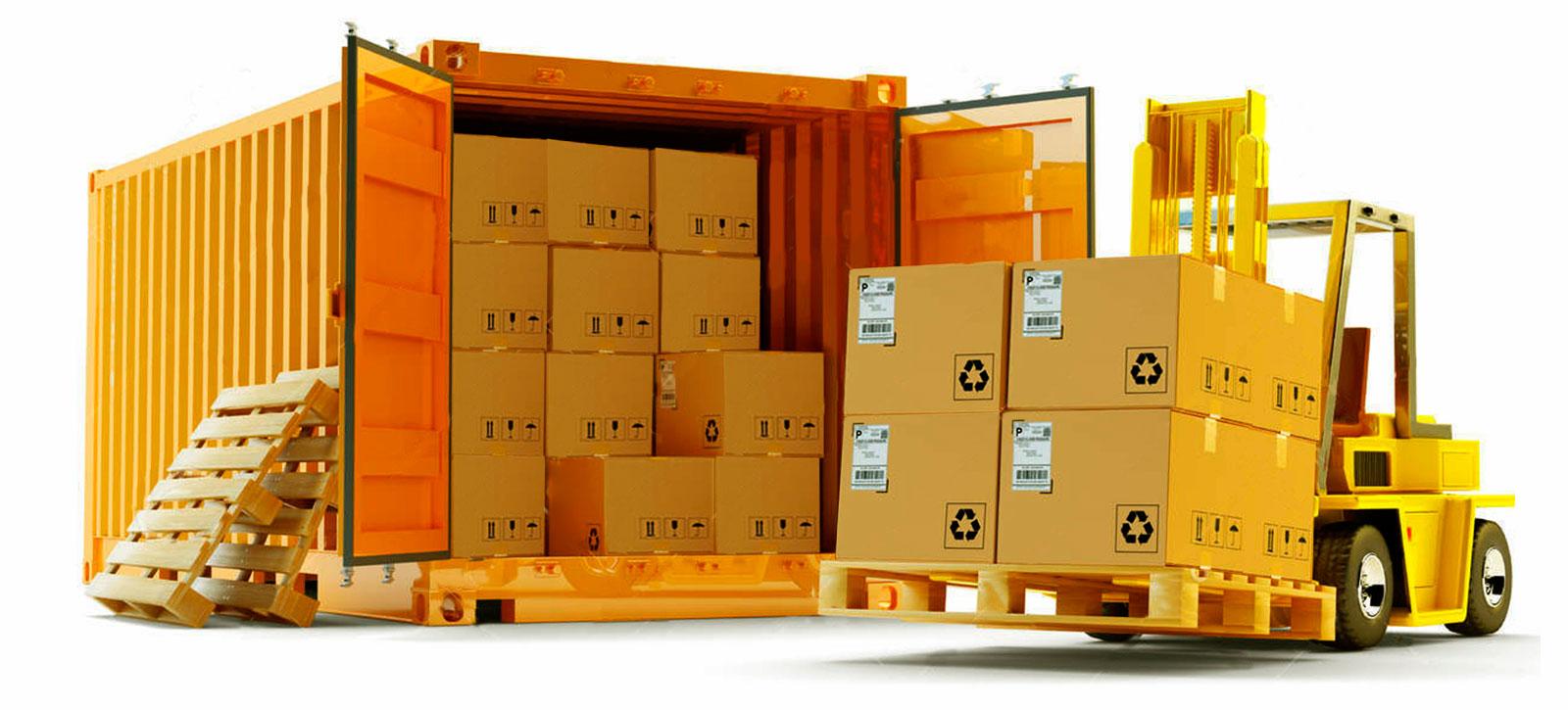 Контейнеры с импортным товаром
