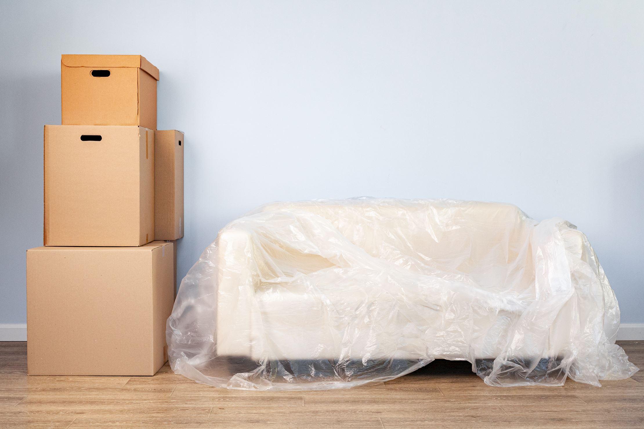 правила упаковки дивана