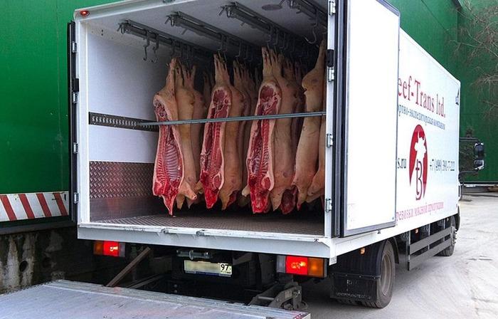 как организовать транспортировку мяса