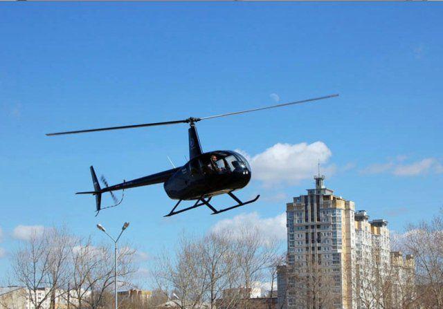 бизнес чартер на вертолете