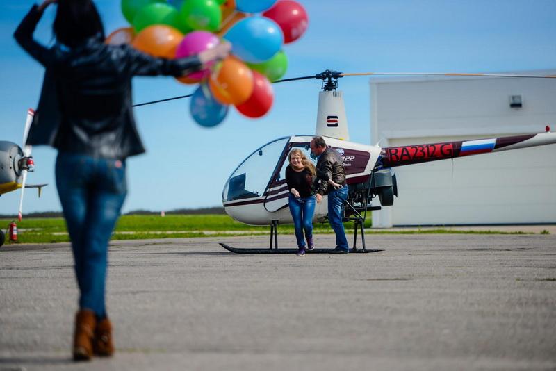 как заказать сертификат на полет вертолетом