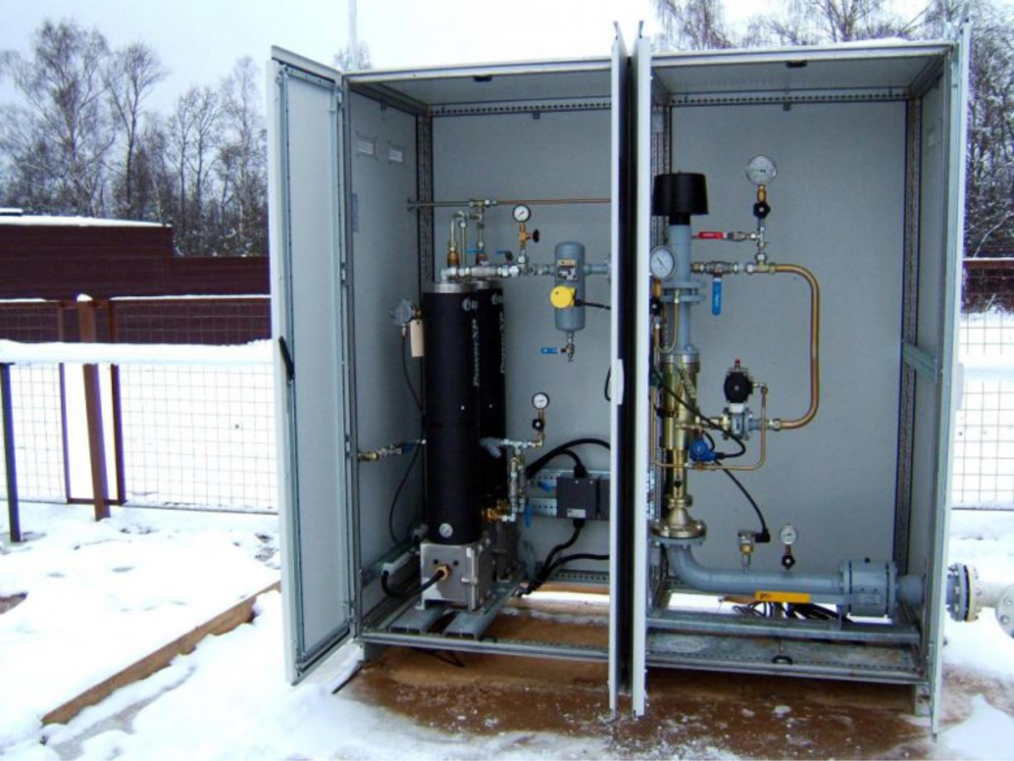 Классы оборудования сжиженного газа