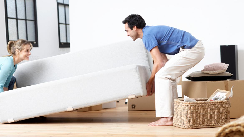 как перевезти диван в целом виде