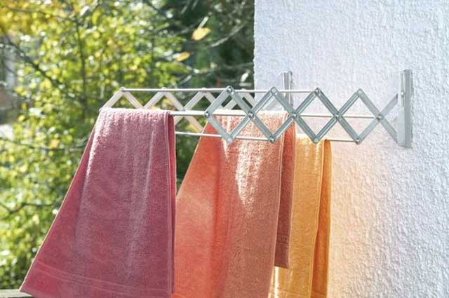 как сушить махровые полотенца