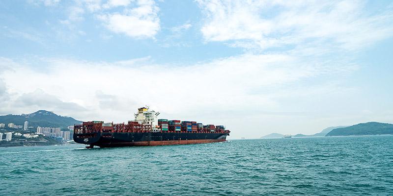 доставка грузов из Китая контейнеровозами