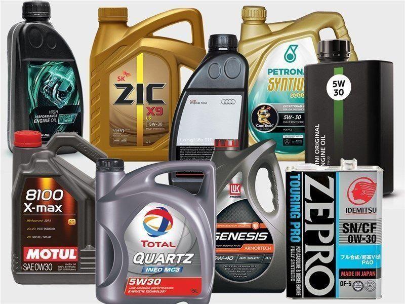 масло для машины