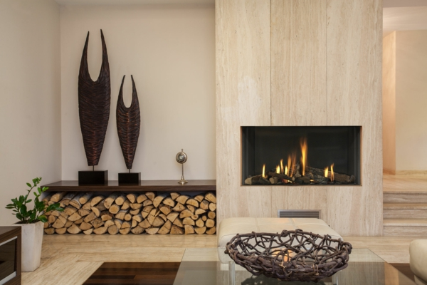 Декоративный камин — украшение квартиры