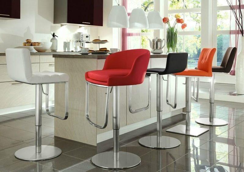 виды барных стульев