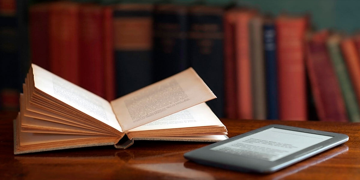 электронная или печатная книга