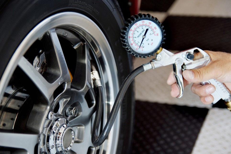 давление воздуха в шинах