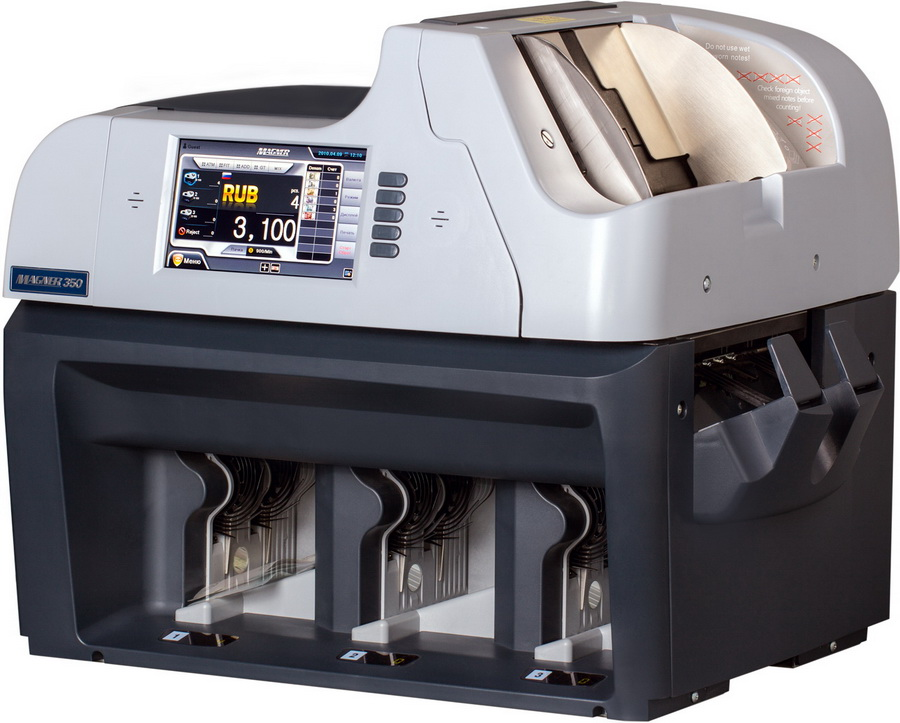 машинка для счета банкнот