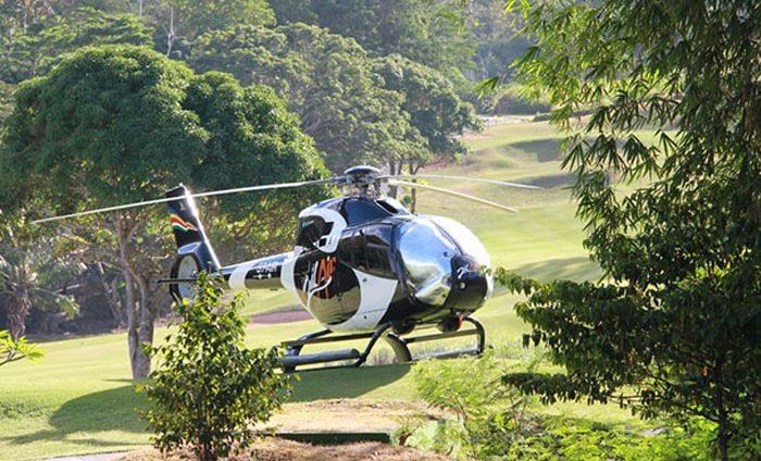 вертолетный чартер в горы