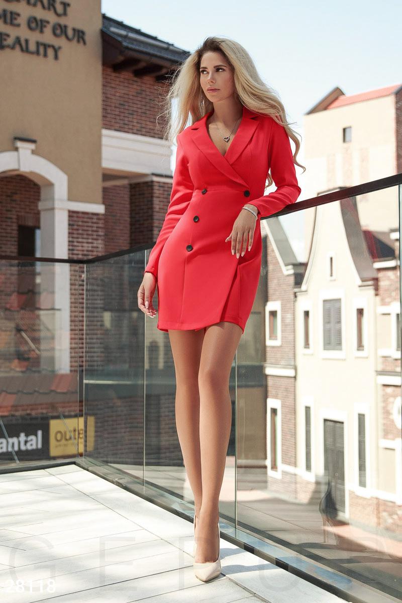 красное платье украина