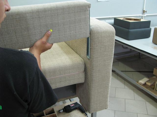 разборка углового дивана