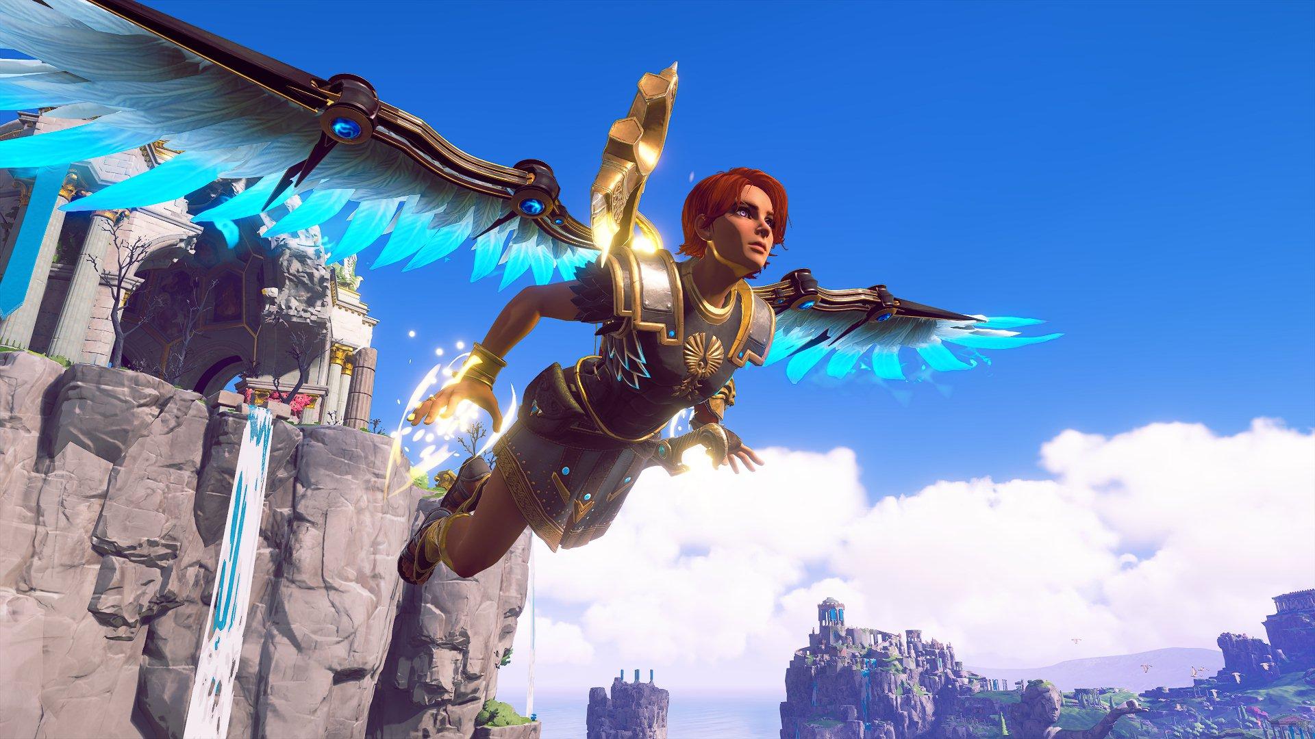 Полет Феникс в игре от Ubisoft