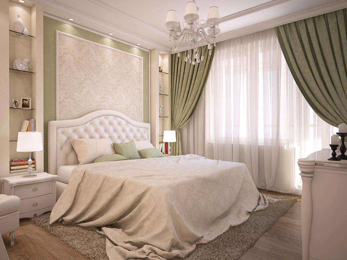 Классический стиль спального гарнитура