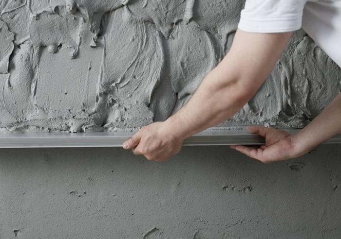 самостоятельная обработка бетонных стен