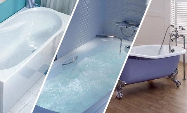 Какая ванна лучше - акриловая или стальная?